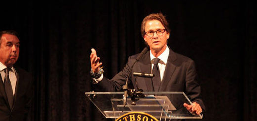 "Lorenzo Mendoza fue galardonado con el premio ""Woodrow Wilson"" en Washington   Foto: Empresas Polar"
