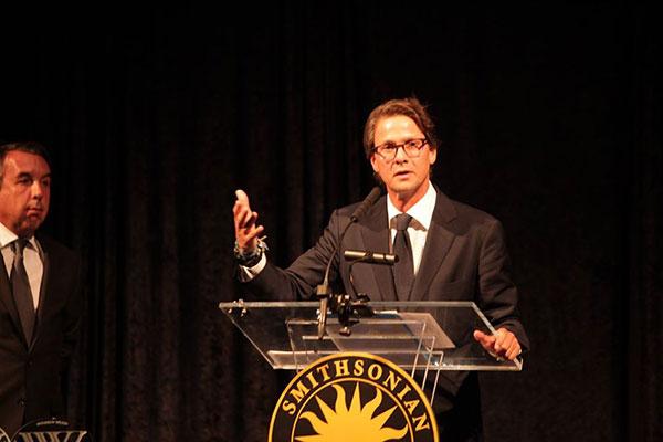 "Lorenzo Mendoza fue galardonado con el premio ""Woodrow Wilson"" en Washington | Foto: Empresas Polar"