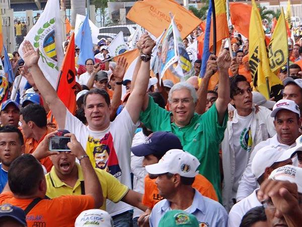 Luis Florido, candidato a la Gobernación de Lara  |Foto: Nota de prensa