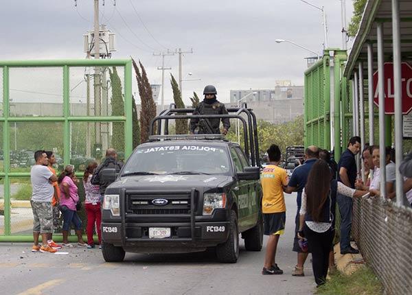 Motín en México |Foto: AFP