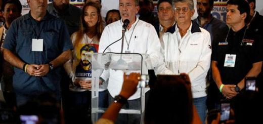 MUD rechazó resultados emitidos por el CNE | Foto: Reuters