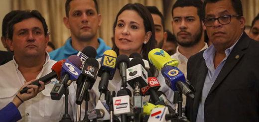 María Corina Machado instó al Parlamento a designar nuevo Poder Electoral | Foto: EFE