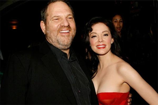 Rose McGowan y Harvey Weinstein | Foto: Wirelmage