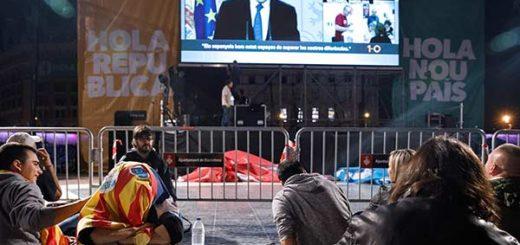 Gobierno catalán anuncia que el sí ganó con 90% de votos: Rajoy llama a la reflexión