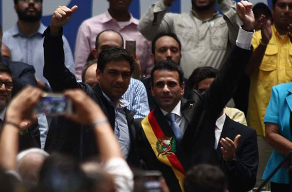 Capriles se despide este miércoles de la Gobernación de Miranda    Foto: NTN24