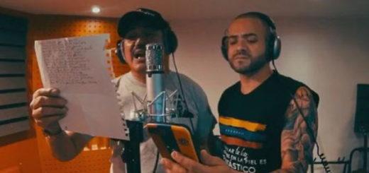 Nacho y Luis Silva trabajan en un nuevo tema | Captura de video