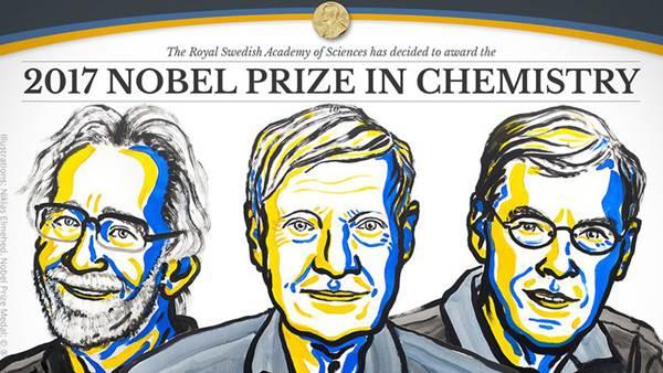 Científicos que abrieron los ojos a la bioquímica ganan premio Nobel de Química | Imagen: @NobelPrize