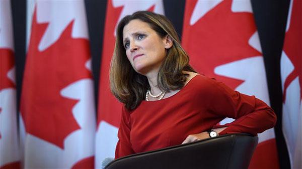 Chrystia Freeland, Ministra de Relaciones exteriores en Canadá | Foto: Cortesía