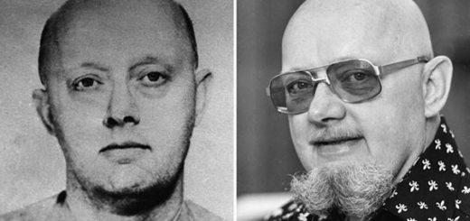Fotos de 1960 y de 1977 de Benjamin Hoskins Paddock, padre de Stephen Paddock, el autor de la masacre de Las Vegas. | Foto: FBI/ Wayne Eastburn/AP