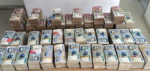 15 detenidos por incautación de 32 millones de pesos colombianos en Táchira | Foto referencial / Caraota Digital