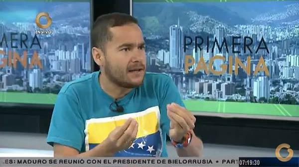 Ricardo Sanchez. Constituyente   Foto: Captura de video