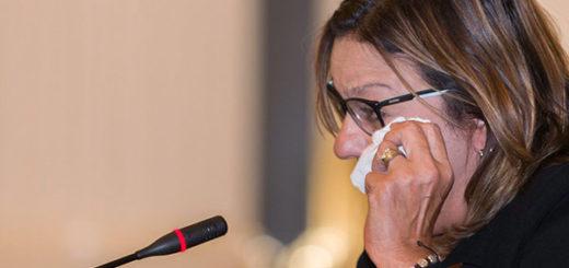 Madre de Geraldine Moreno denunció en la OEA el asesinato de su hija | Foto: @OEA_oficial