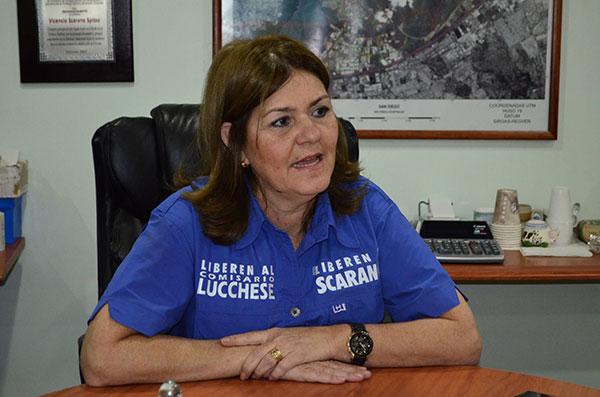 Alcaldesa encargada de San Diego, Rosa de Scarano | Foto: Archivo