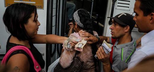 Crisis de Venezuela tiene al borde del colapso el sistema de transporte | Foto: EFE