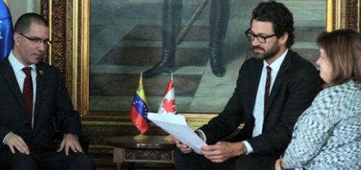 Venezuela entregó nota de protesta a Canadá por injerencismo | Foto: @NTN24