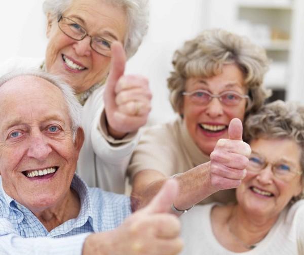 Viejos felices
