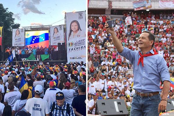 Culmina la campaña electoral con varios reclamos de la oposición | Composición