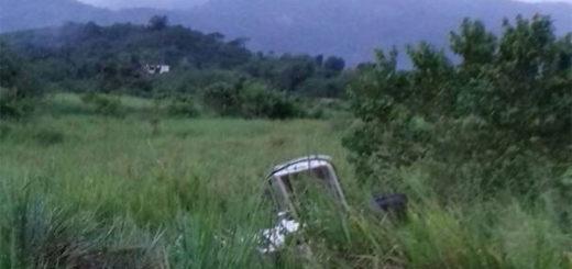 Así quedó la camioneta donde viajaba Freddy Bernal, tras sufrir accidente | Foto: