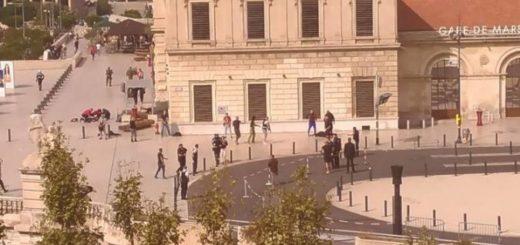 Ataque terrorista en Marsella, Francia | Foto: Twitter