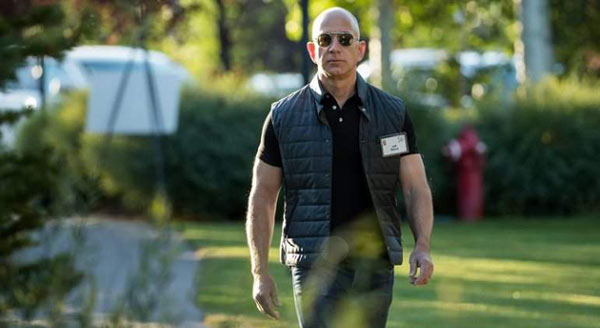 Jeff Bezos| Foto: Getty Images