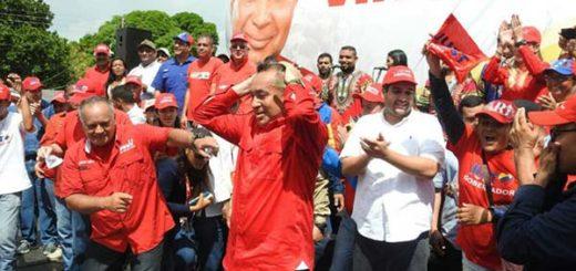 Candidato del PSUV en Bolívar, Justo Noguera Pietri   Foto: Cortesía