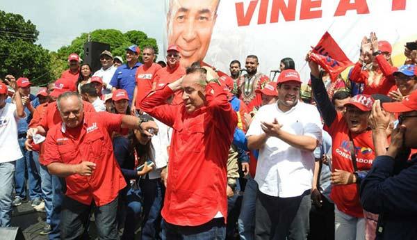 Candidato del PSUV en Bolívar, Justo Noguera Pietri | Foto: Cortesía