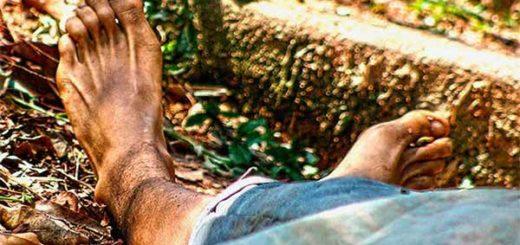 Cadáver de hombre decapitado en Aragua | Foto:  Sergio Olivo