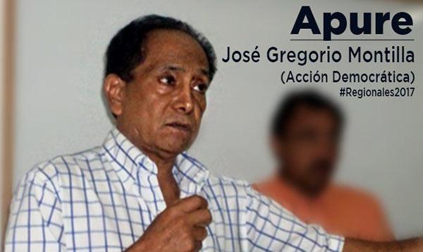 Candidato José Gregorio Montilla | Foto: Twitter