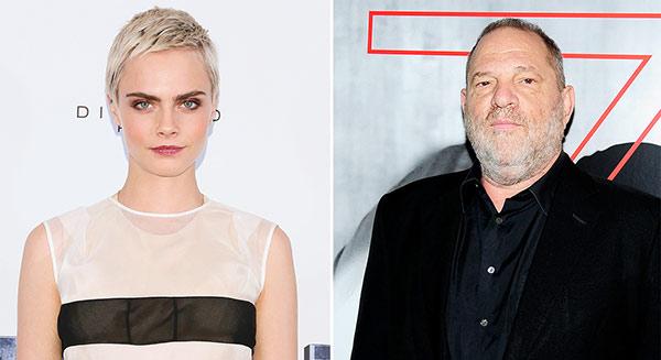 Cara Delevingne denuncia a Weinstein | imagen: People