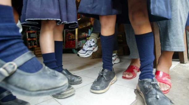Al menos un centenar de niños fueron abusadosen colegio de Ecuador| Foto referencial