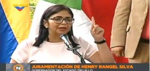 Delcy Rodríguez | Foto: Archivo