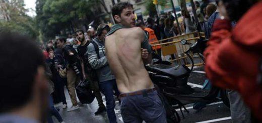 ONU pide a gobierno español investigar todos los actos de violencia en Cataluña