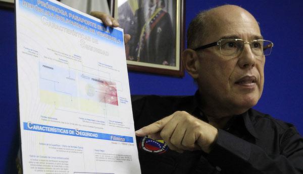 Director del SAIME, Juan Carlos Dugarte, explica trámite de prórroga | Foto: AVN