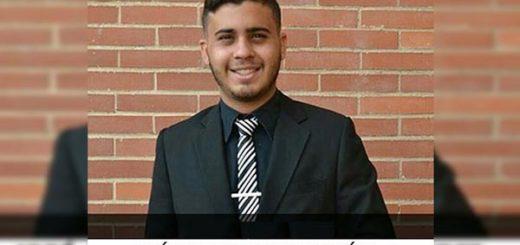 Estudiante de la UCAB asesinado por GNB | Foto: Caraota Digital
