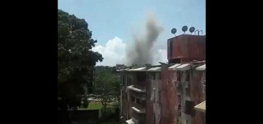 Fuerte explosión en la Compañía Venezolana de Industrias Militales (CAVIM)