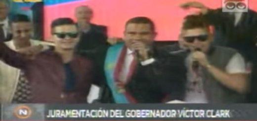 Gobernador del estado Falcón, Víctor Clark | Foto: captura de video