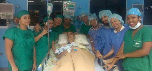 Freddy Bernal mostró imágenes de su estado de salud tras sufrir accidente | Foto: Twitter