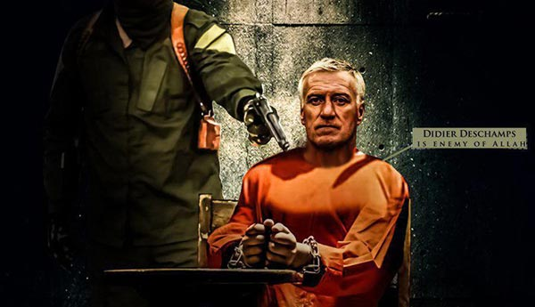 ISIS amenaza a Didier Deschamps | Imagen: siteintelgroup