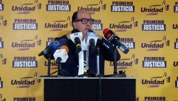 Julio Borges|Foto: @unidadvenezuela