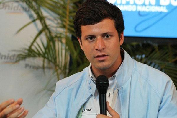 Elías Sayegh, coordinador de Primero Justicia en El Hatillo | Foto: Archivo