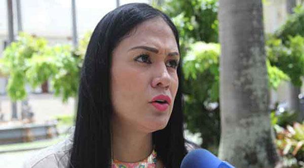 Gobernadora electa del Táchira, Laidy Gómez   Foto: Cortesía