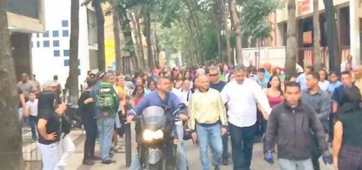 Nacho recorre Caracas | Foto:  captura de video