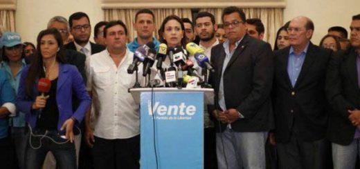 María Corina Machado, coordinadora de Vente Venezuela   Foto: Twitter