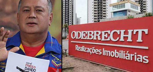 Diosdado Cabello es investigado por caso Odebrecht