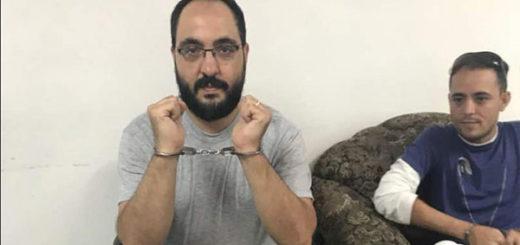 Periodistas detenidos | Foto: @ELESPINITO
