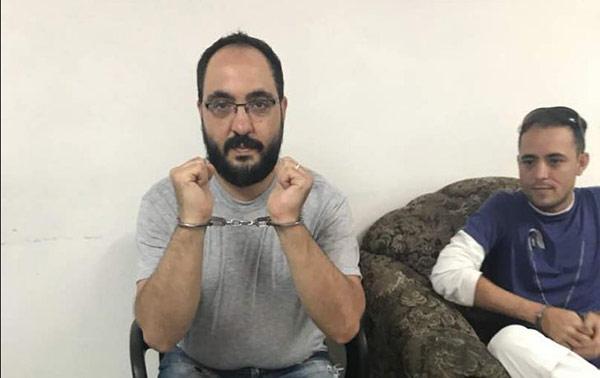 Periodistas detenidos   Foto: @ELESPINITO