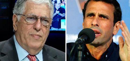 Rafael Poleo ataca a Henrique Capriles | Composición Notitotal