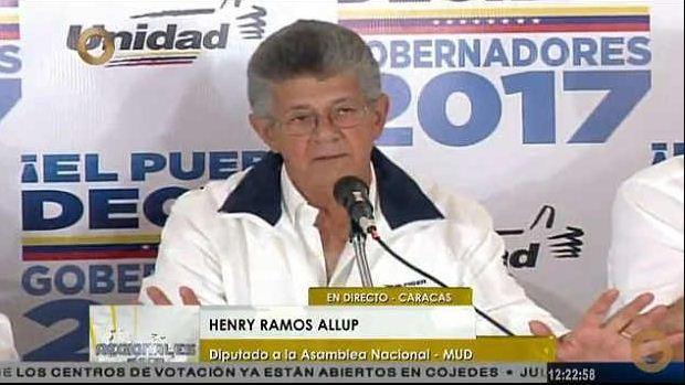 Henry Ramos Allup   Foto: Captura de video