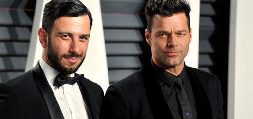 Ricky Martin con Jwan Yosef  | Foto: Hello! Magazine