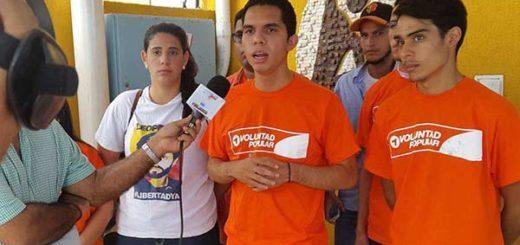 Luis Roque, estudiante detenido | Foto: El Nacional